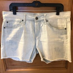 Roxy faded denim shorts